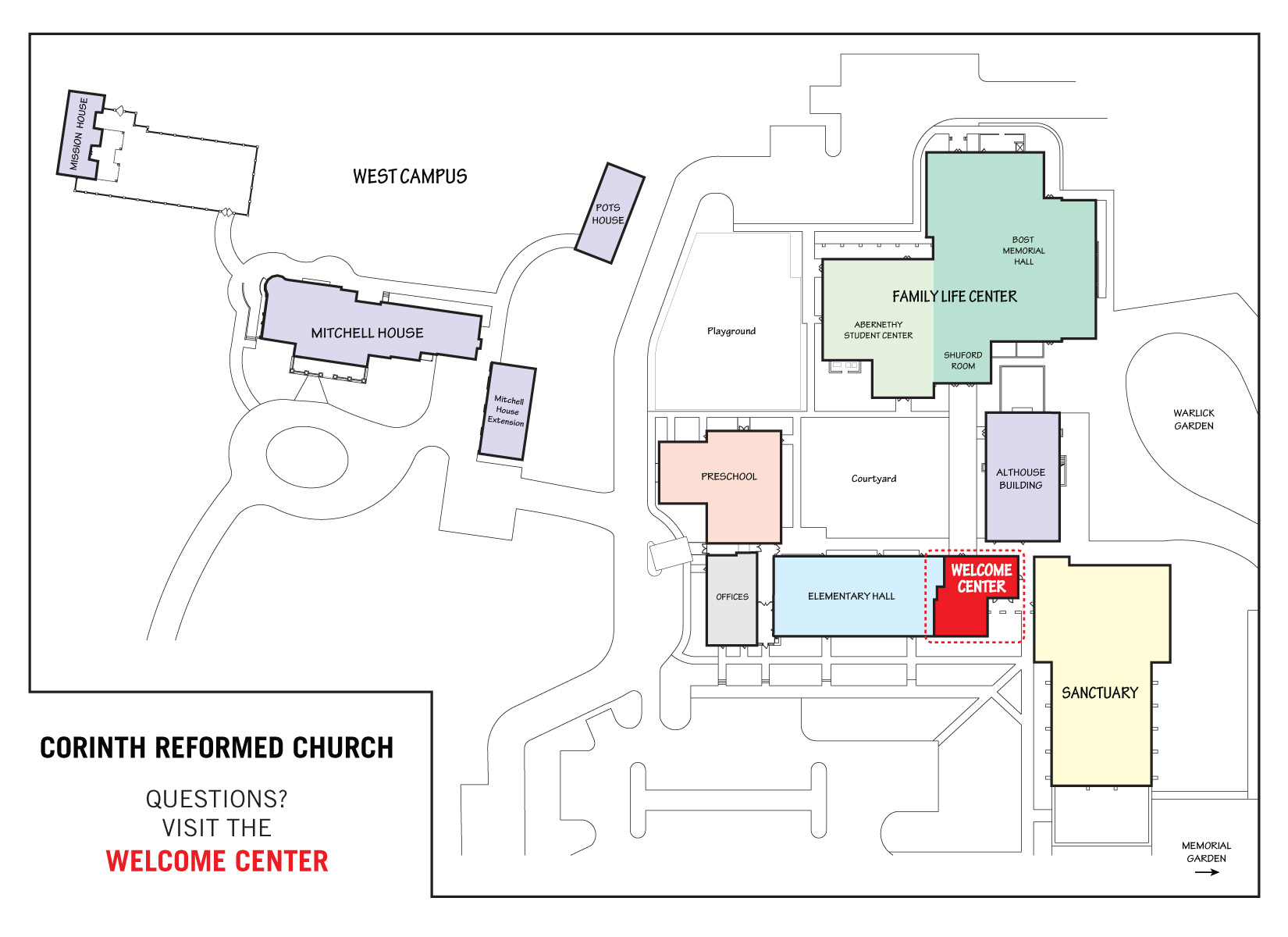 Campus Map – Corinth Reformed Church on uccs mascot, west wing map, colorado springs map, uccs colorado springs co, uccs clock tower, uccs student life, union county college cranford nj map, uccs dorms, uccs alpine village, uccs visitor parking, uccs dwire hall lssc, uccs university of colorado spring, national art gallery map, rochester new york airport map, university college cork ireland map, uccs mountain lions, uccs recreation center, uccs communication center, uccs soccer, uccs writing center,